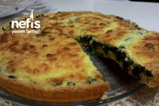 Ispanaklı Peynirli Tart Tarifi
