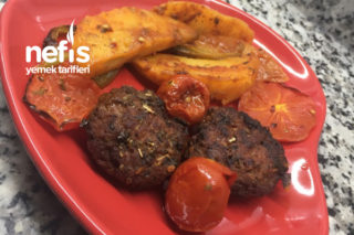 Fırın Köfte Patates Tarifi