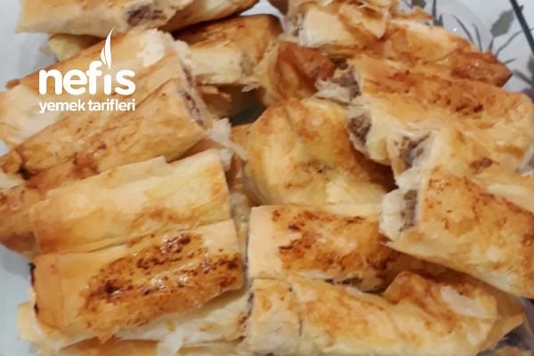 Kıymalı Peynirli Çıtır Börek Tarifi