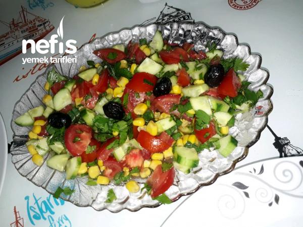 Mevsim Salata (kaşık Salatası)