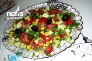 Mevsim Salata (Kaşık Salatası) Tarifi