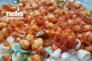 Nohutlu Makarnalı Semizotu Salatası Tarifi
