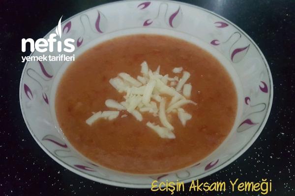 Ecişin Aksam Yemeği (kilo Aldıran Domates Çorbası)