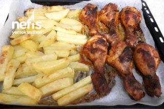 Fırında Lezzetli Tavuk Baget Tarifi