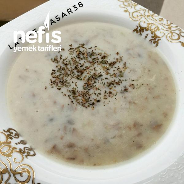Kremasiz Mantar Çorbası(lezzet Bombası )