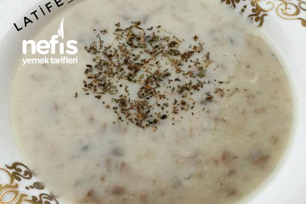 Kremasız Mantar Çorbası (Lezzet Bombası ) Tarifi