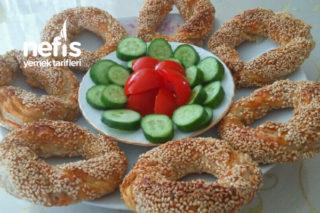 Peynirli Milföy Simit Tarifi
