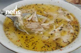Şehriyeli Tavuk Çorbası (Müthiş) Tarifi