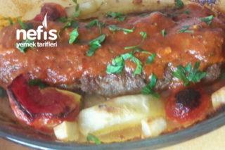 Patlıcanlı Kıymalı Kebap (Sürpriz Köfte) Tarifi