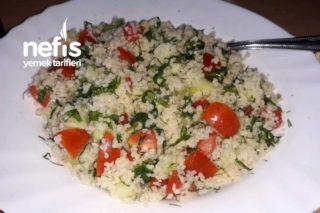 Yaz İçin En Güzel Tabule Salatası Tarifi