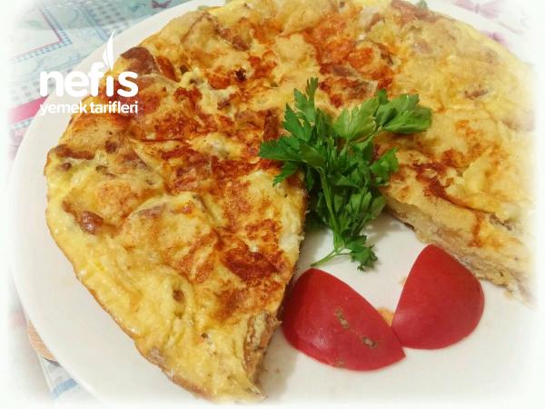 Enfes Bayat Ekmek Omleti(Börek Tadında)