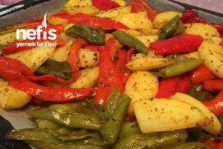 Fırında Patates Ve Biber (Enfes) Tarifi