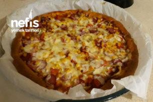 Karışık Pizza (Hazırları Aratmayan Nefis ) Tarifi