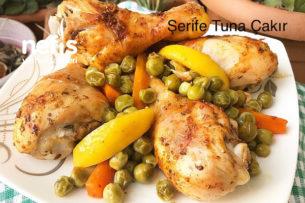 Limonlu Fırında Tavuk Baget Tarifi