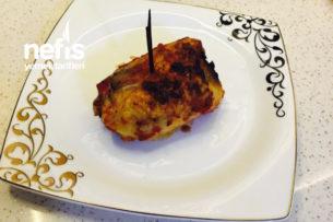 Enfes Davet Yemeği Mantarlı Tavuk Sarma Tarifi