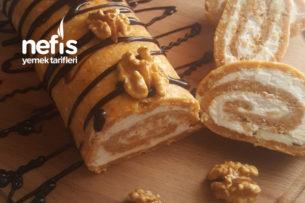 Havuçlu Bisküvili Rulo Pasta Tarifi