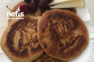 Siyez Unlu Tahinli-Muzlu Pancake Tarifi