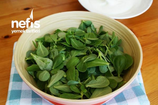 Yoğurtlu Semizotu Salatası Tarifi