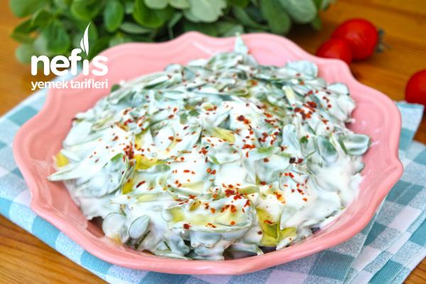 Yoğurtlu Semizotu Salatası Tarifi (videolu)