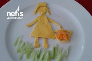 Peynirli Omlet ( + 8 Aylık ) Tarifi