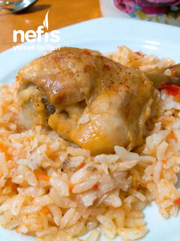 Domatesli Havuçlu Tavuk Büryan