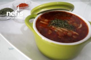 Erişteli Yeşil Mercimek Çorbası Tarifi