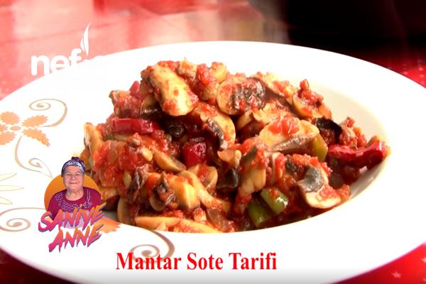 Mantar Sote Tarifi (videolu)