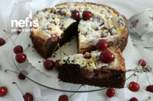 Çikolatalı Kirazlı Pasta Tarifi