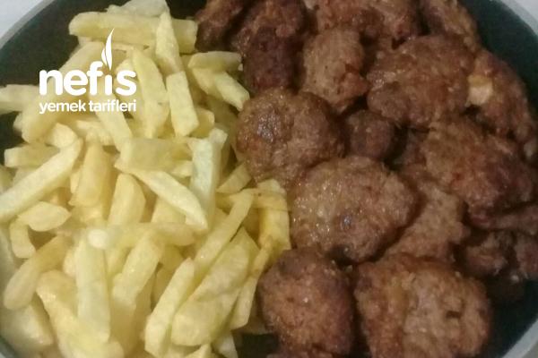 Köfte Ve Patates Kızartması
