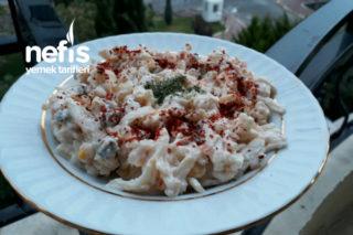 Makarna Salatası Erişteli Tarifi