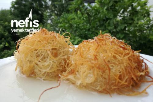Margarinsiz Kadayıf Tatlısı Tarifi