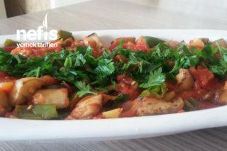 Patlıcanlı Şakşuka Tarifi