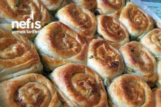 Çıtır Çıtır Ispanaklı Gül Böreği (Hazır Yufkadan) Tarifi