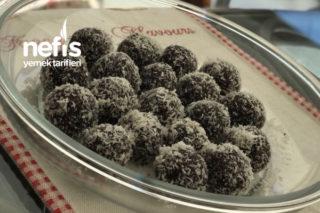 Hurmalı Fındıklı Bisküvili Toplar (Şekersiz Ve Nefis) Tarifi