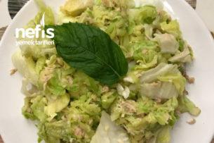 Kabaklı Ve Ton Balıklı Diyet Salata Tarifi