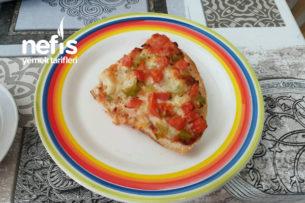 Bayat Ekmek Pizzası (Çok Pratik Çok Kolay) Tarifi