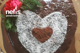 Kalp Babalar Günü Pastası (Gerçek Gül) Tarifi