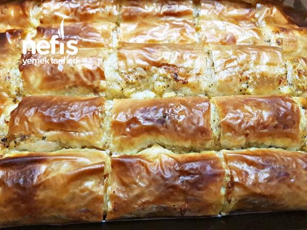 Kremalı Patatesli Yaş Börek