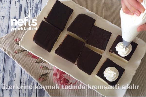 Çikolata Soslu Sütlü Tatlı