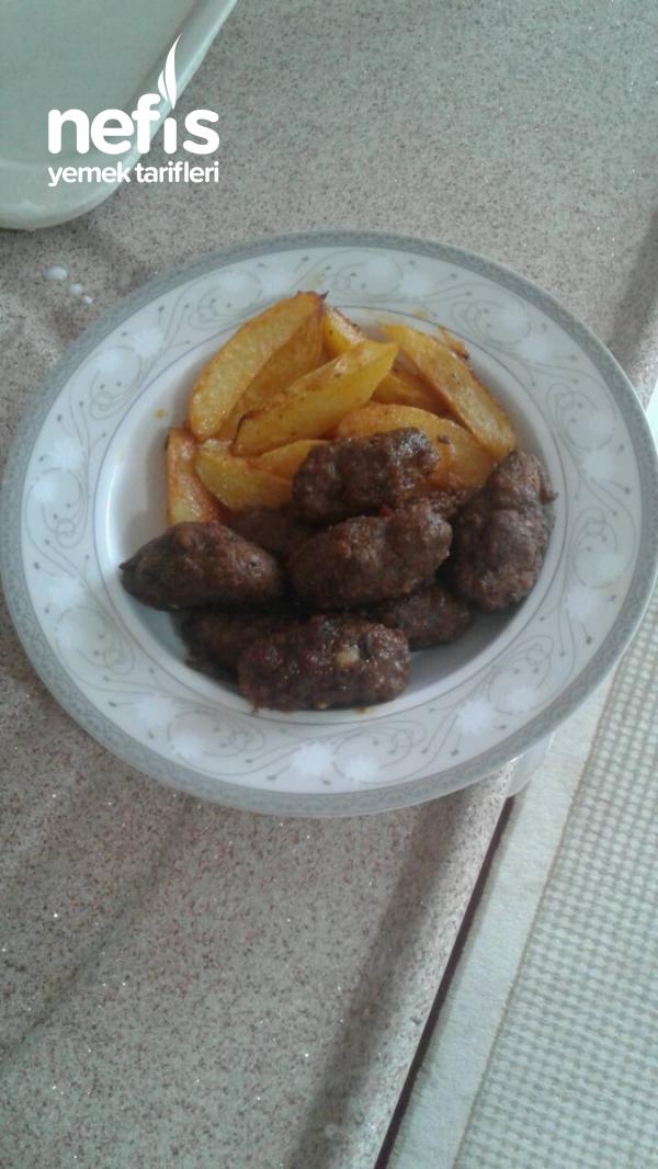 Fırında( Pratik )köfte Patates