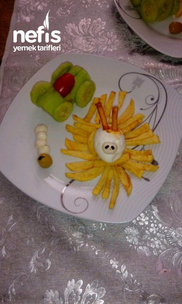 Kahvaltı Tabağı 2 (çocuklar İçin)