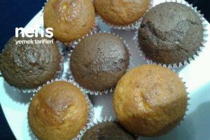 Kakaolu Ve Sade Muffin Tarifi