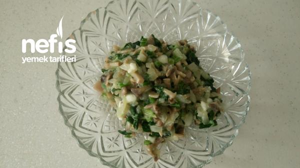 7 Aylık Ek Gıda Ispanaklı Mantar
