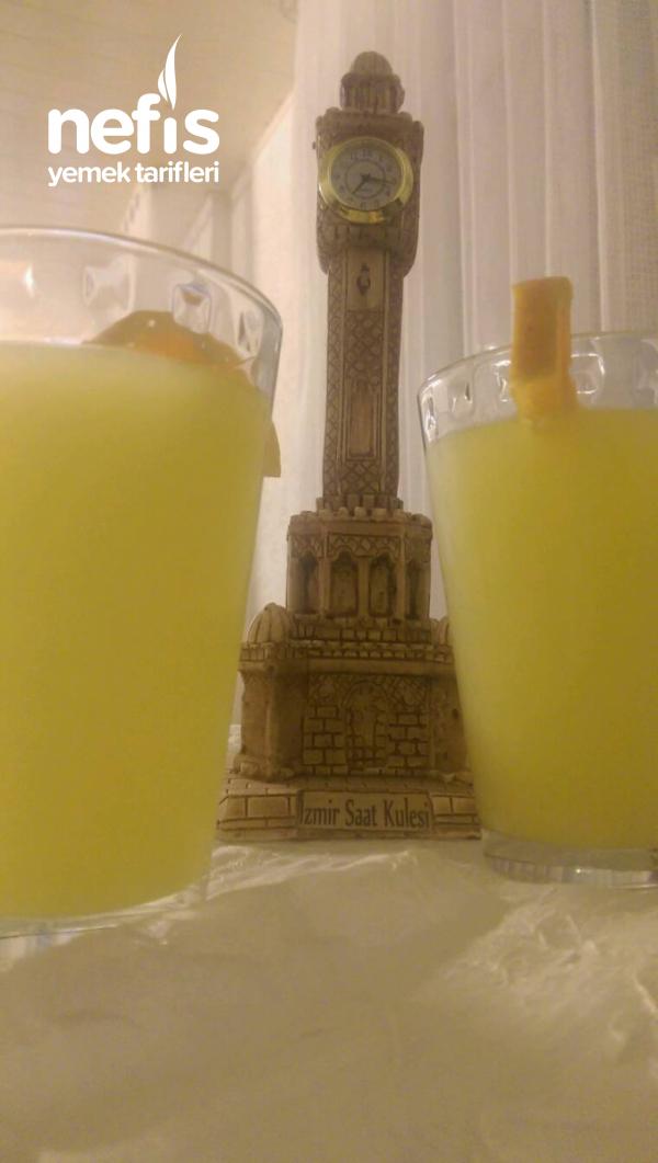 Buz gibi C Vitamini Iceren Limonata