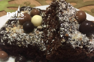 Islak Kek (Çikolata Soslu) Tarifi