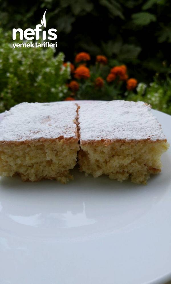 Pamuk Kek (5 Dakikada Hazır)