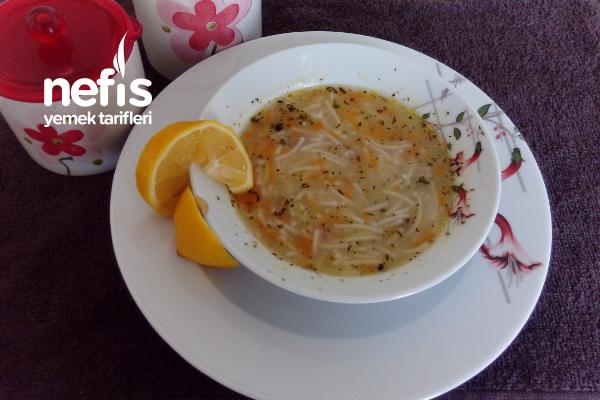 Tavuklu Ve Havuçlu Şehriye Çorbası (Şifa Çorbam) Tarifi