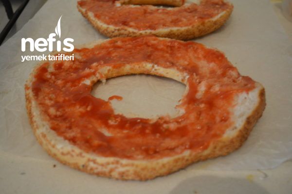 Simit Pizza