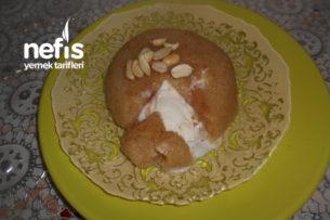 Sütlü Zeytinyağlı Yerfıstıklı Dondurmalı İrmik Helvası Tarifi