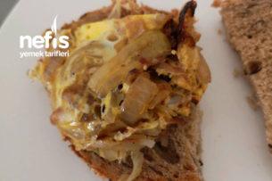 Yumurtalı Soğan Kavurması (Kahvaltılık) Tarifi